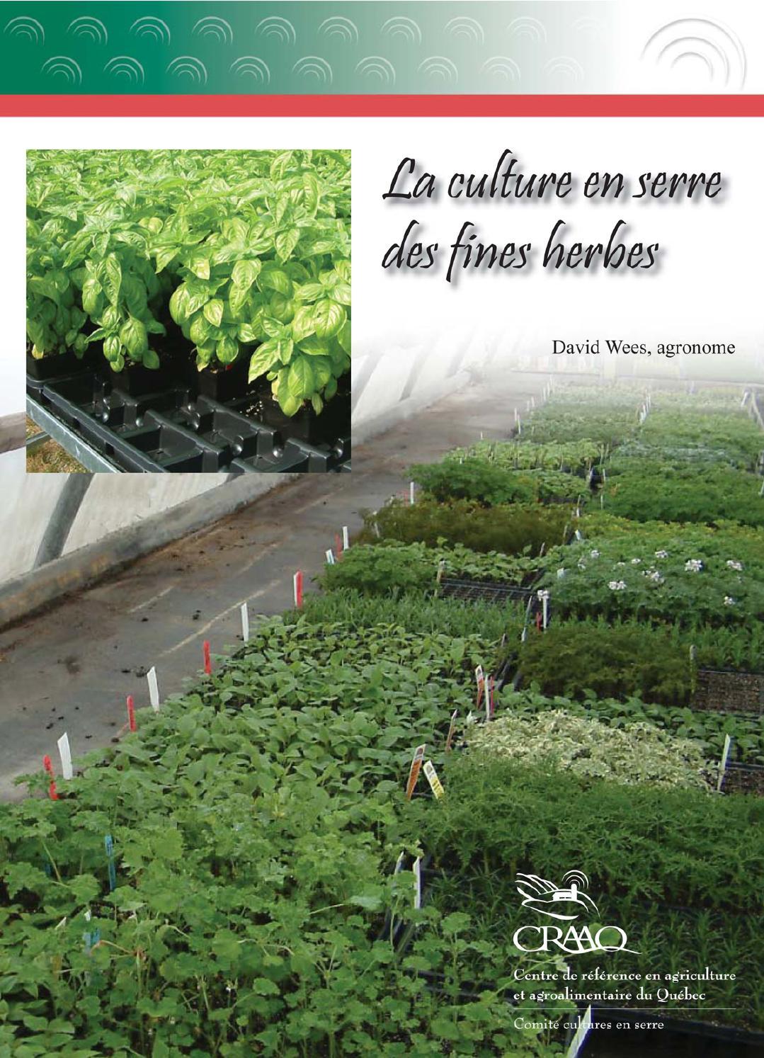 document sur la culture des fines herbes