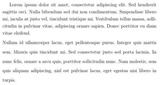 latex double spacing whole document