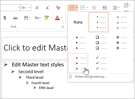 how change powerpoint document size
