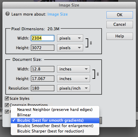 reduce image size in word document