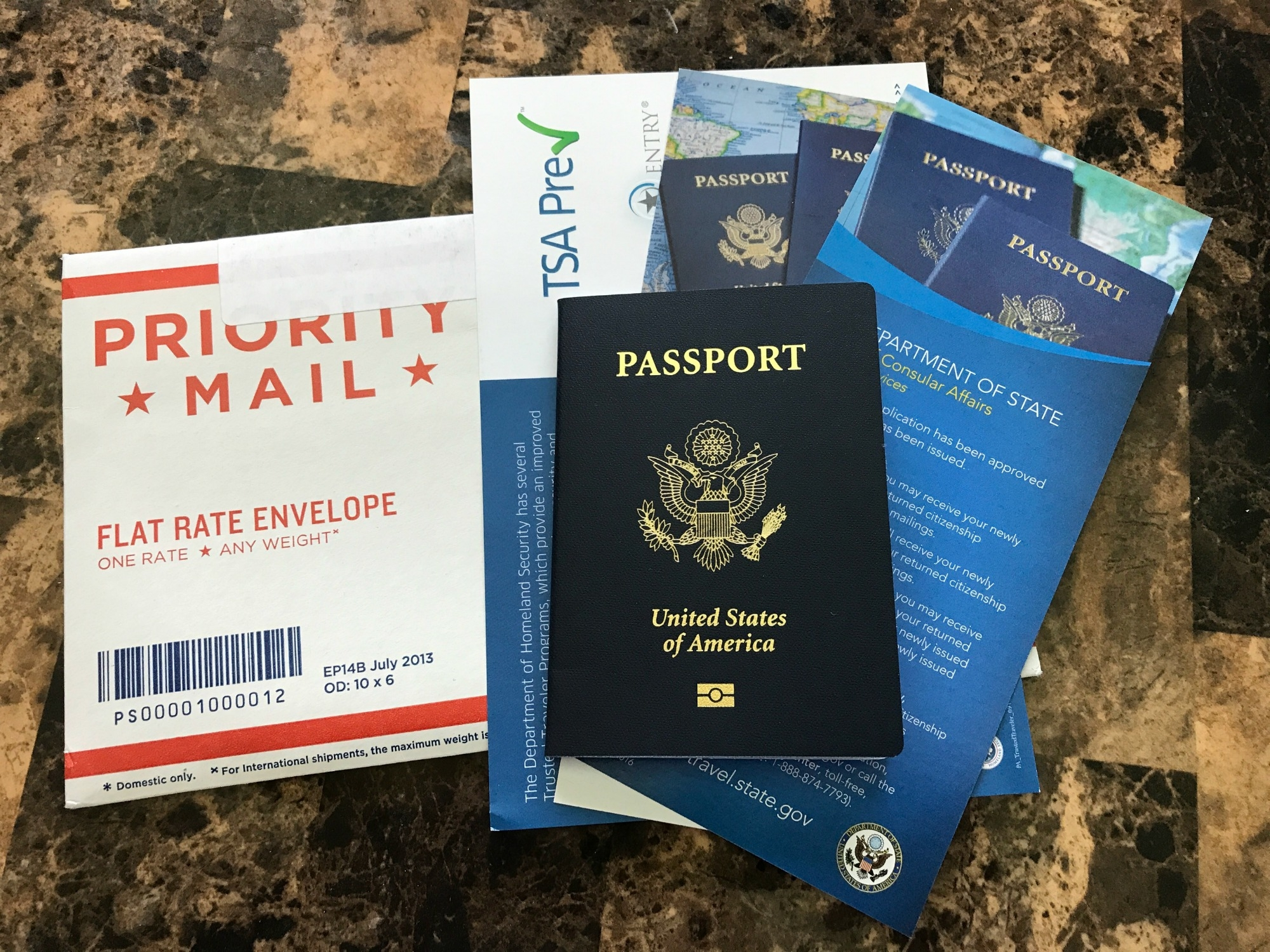 express entry passport renewal document