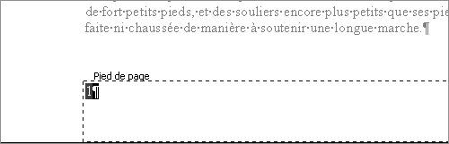 centrer page texte sur document word