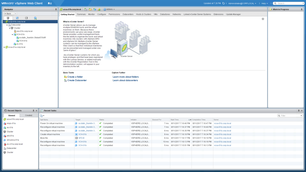 vsphere integrated containers documentation