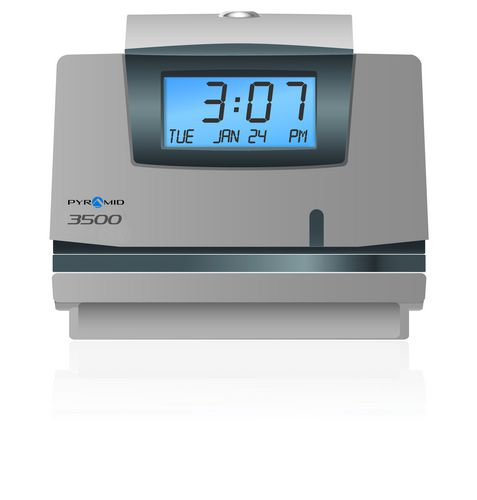 pyramid 3500 time clock and document stamp canada