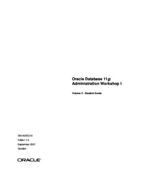 oracle 11g online documentation