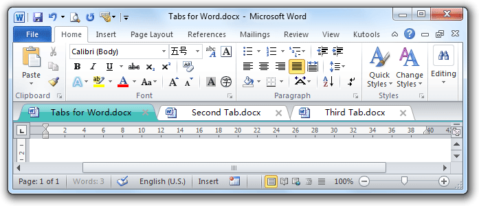 scan a document and all the words appear on scrren