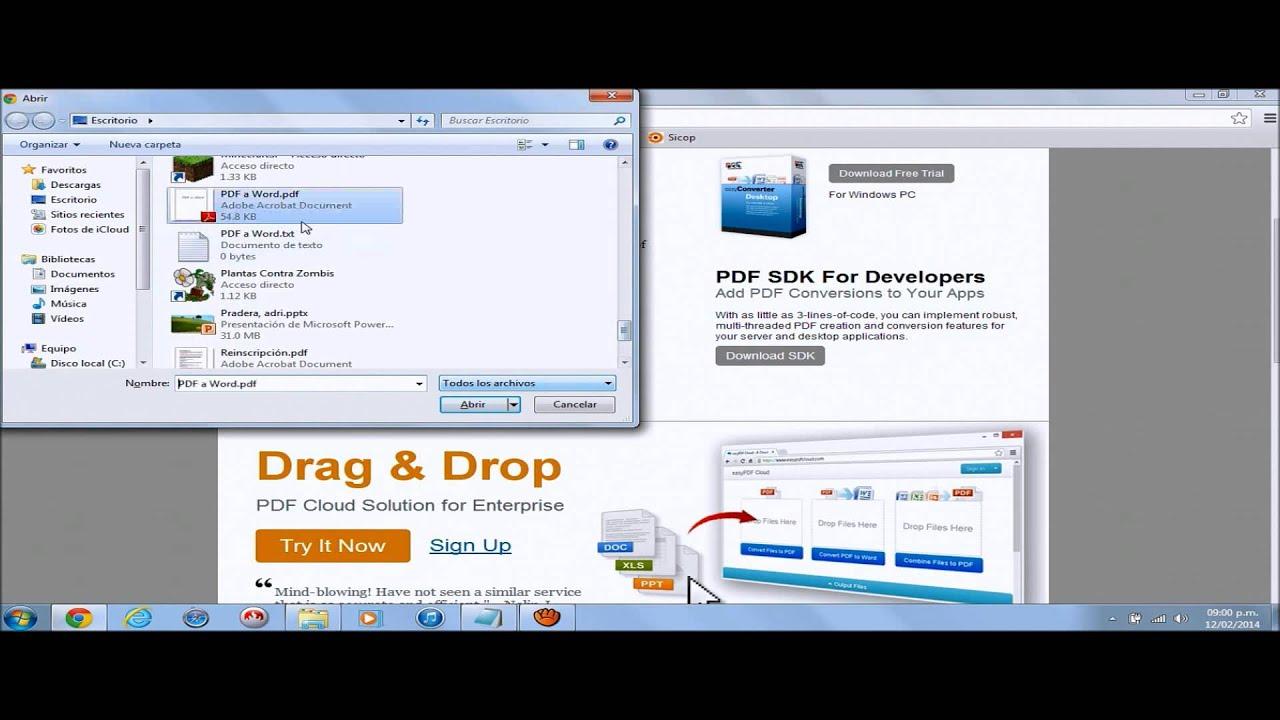 convertir document word en pdf gratuit