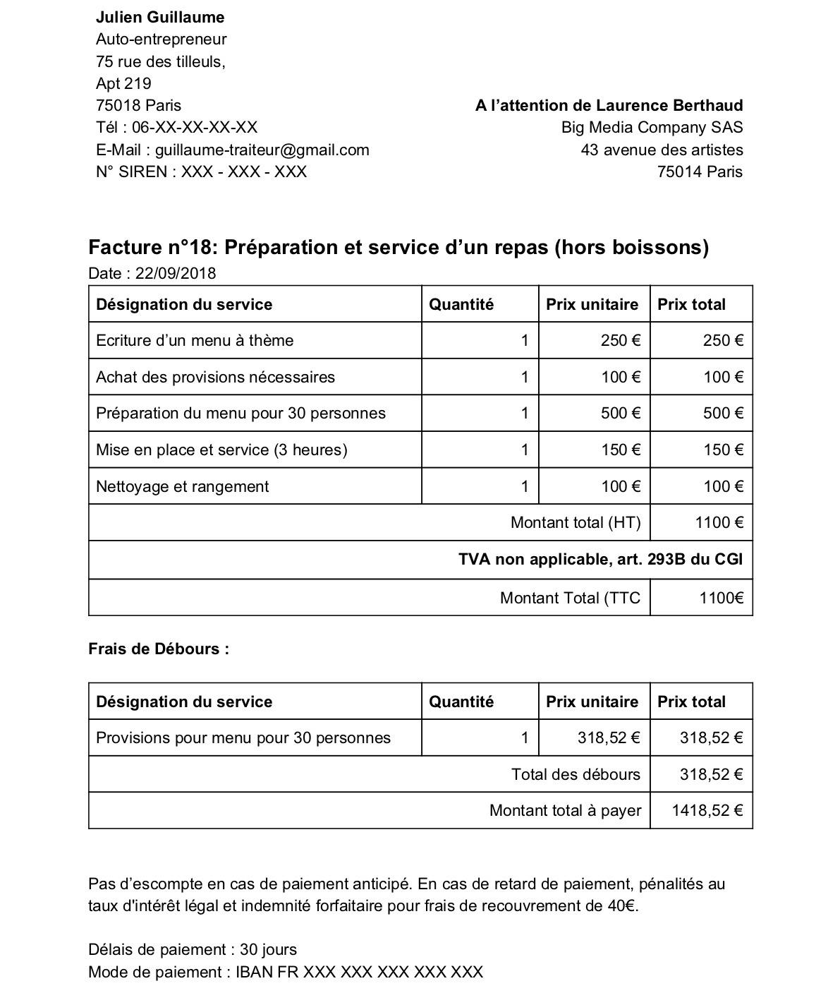 exemple de document demander pour le reglement volkswagen