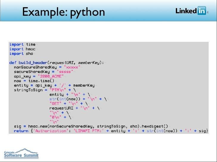 python linkedin api documentation