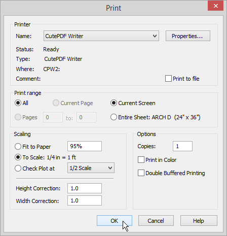 pdf file document could not be printed
