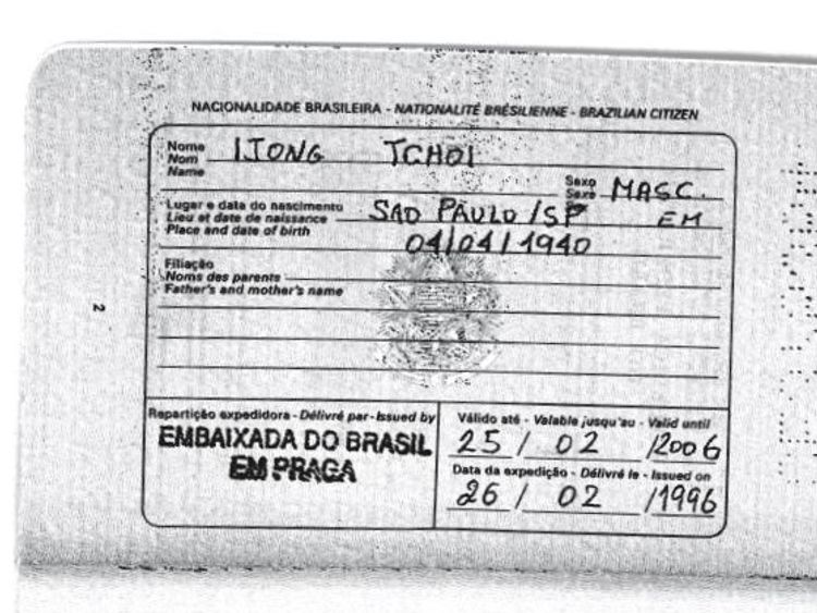 where was the passport travel document issued brasil