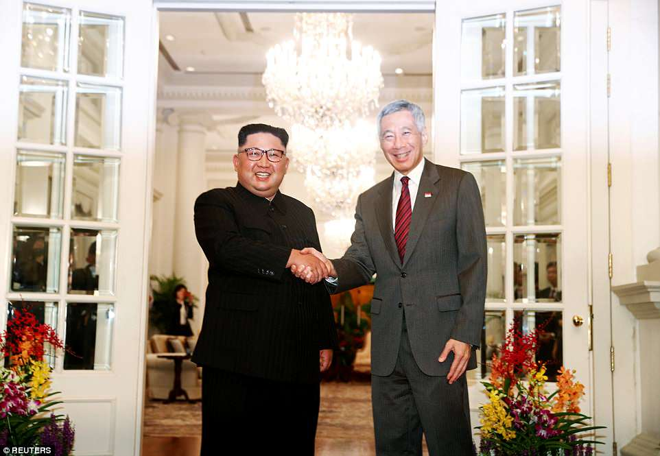 historic document singapore korea summit