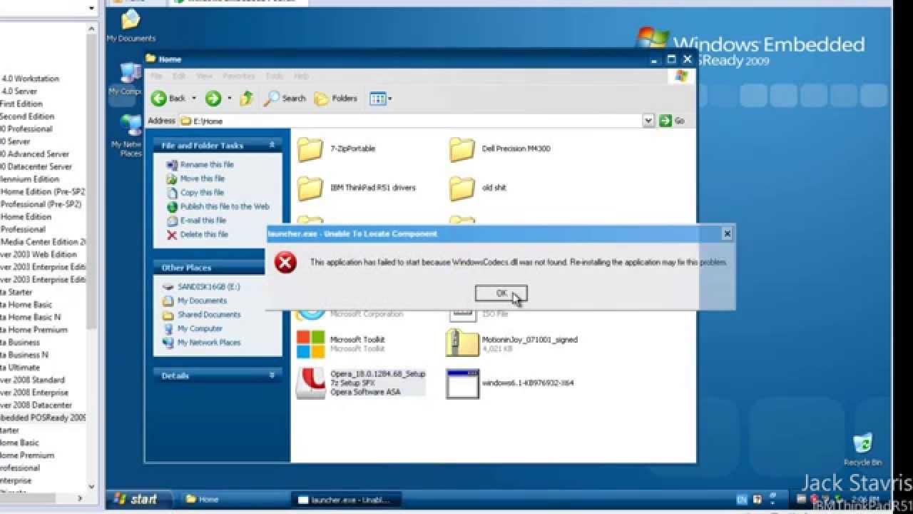 windows embedded standard 7 sp1 documentation