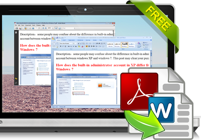how to change pdf to word document for free