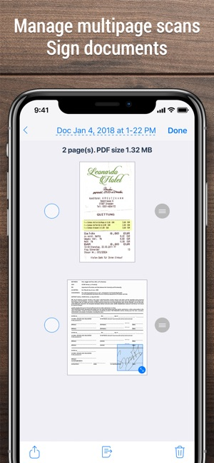 app to scan a document