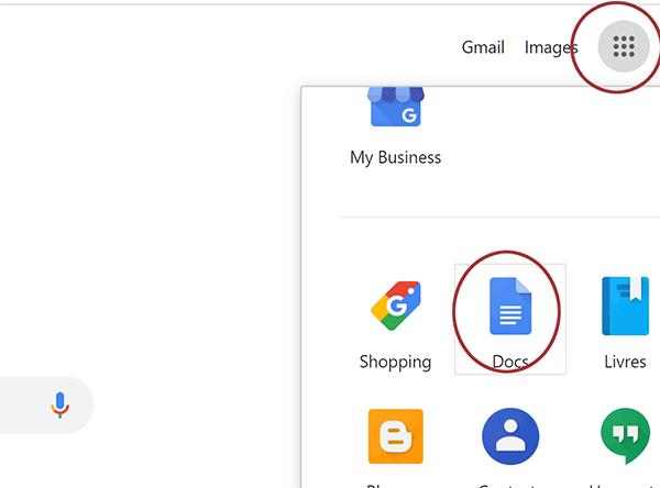ouvrir google document hors ligne