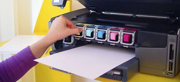 cheap printer ink ruins document