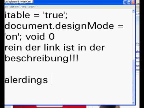 document body contenteditable true document designmode on void 0 chrome