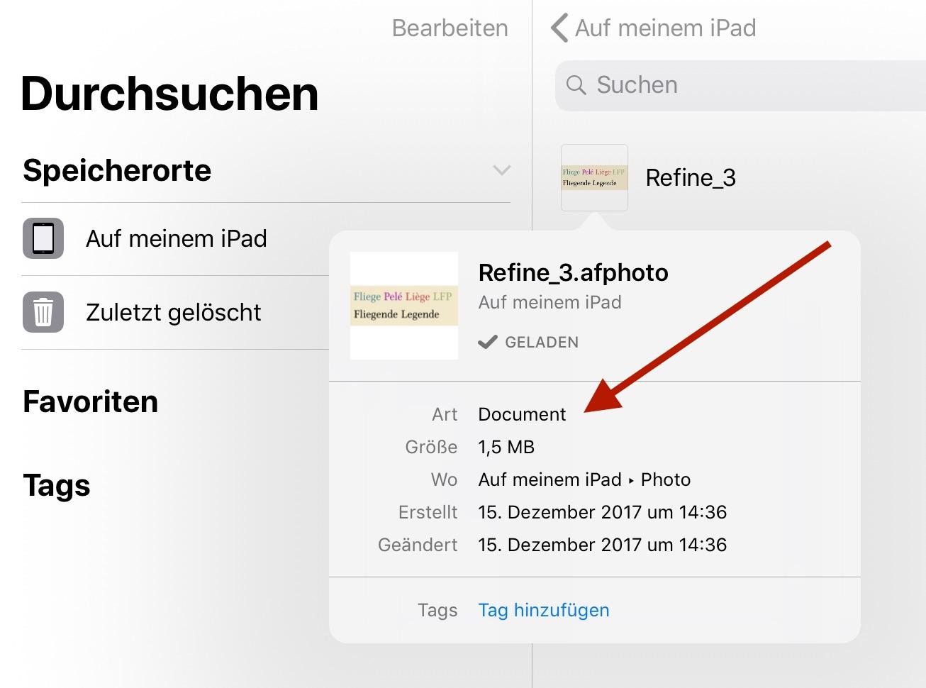 affinity photo ipad documentation