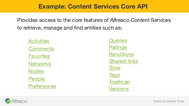 alfresco 5.2 documentation