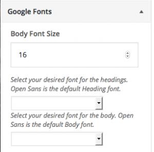 sensible wordpress theme documentation