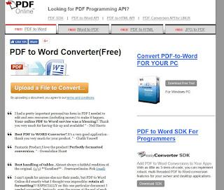 convert word 2007 document to pdf online