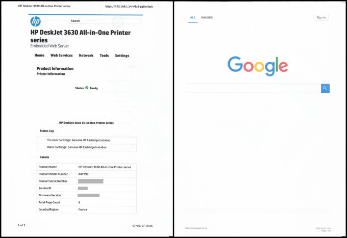 how do i scan a document on my hp printer