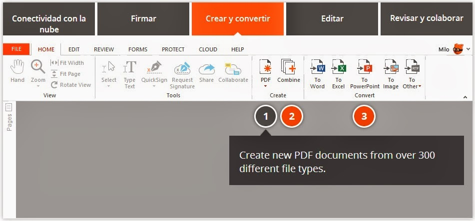 how to change nitro pro to word document