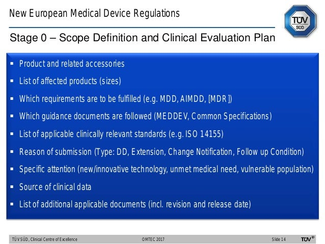 clinical evaluation guidance document meddev 2.7.1