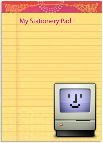 how to add letterhead to word document mac
