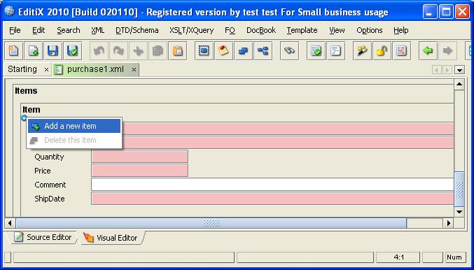 how to edit xml document