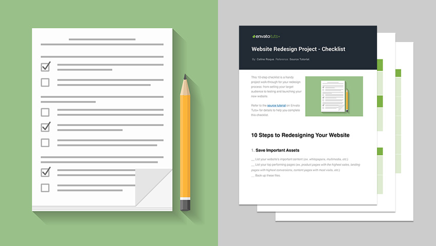 website redesign requirements document sample