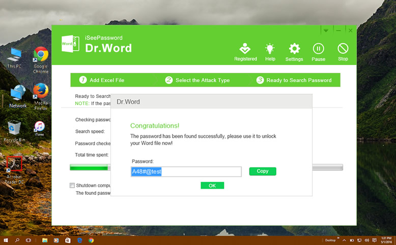 how to unlock a password protected word document