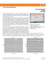 resume for ar spec documentation