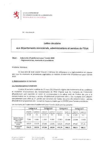 lettre de reference technique de l documentation