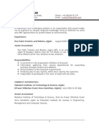introduction cv ps join document english