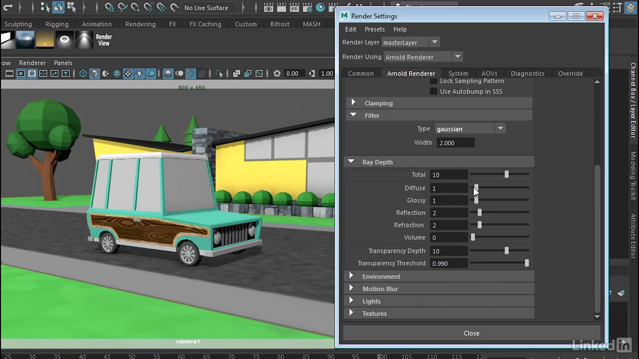 arnold 5 maya documentation