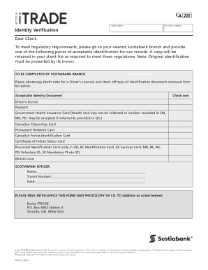 notarized authentication document form id