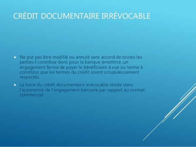 l engagement d importation est un document