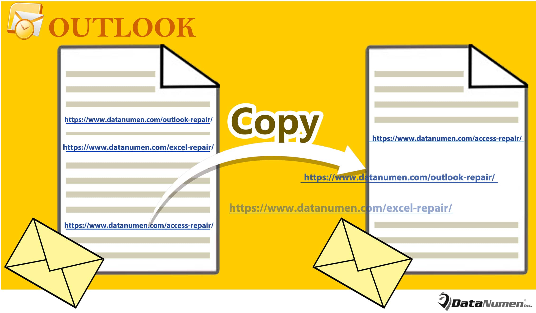 copy embedded document in webpage