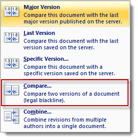 sharepoint new version of document