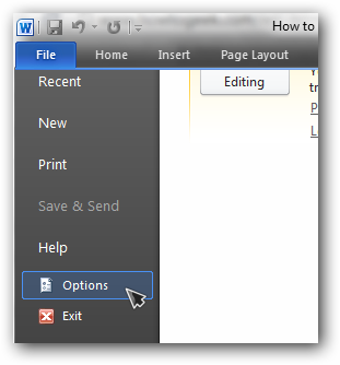 how to save a internet page as a word document