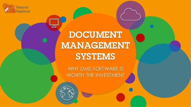 why use document management software