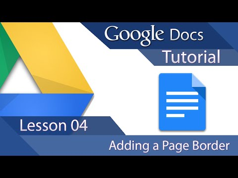 how to add a border around text in google document