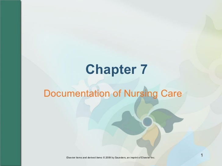 purpose of documentation in nursing