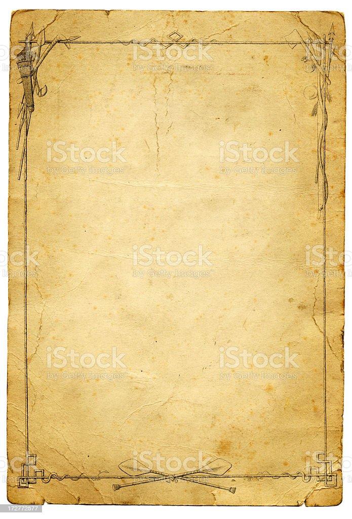 insert landscape sheet into portrait document