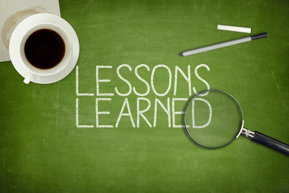 what is lessons learned document