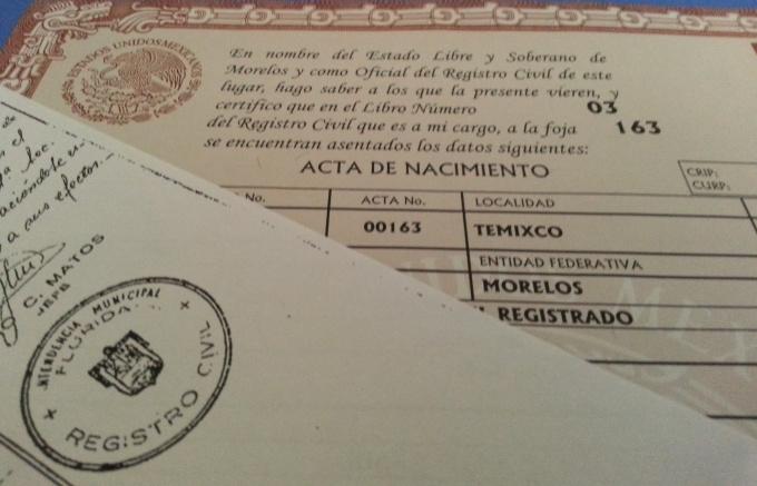 citizenship test no original document