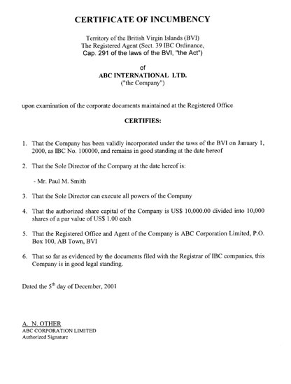 bvi company search and document request