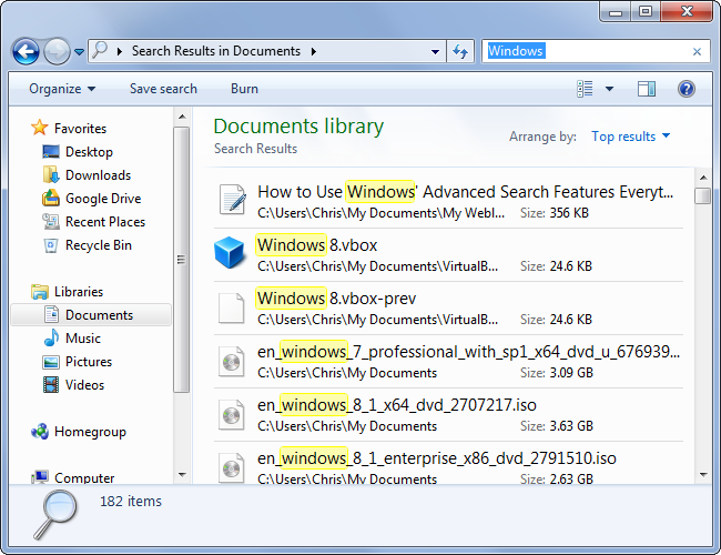 document en format doc sur windows 10